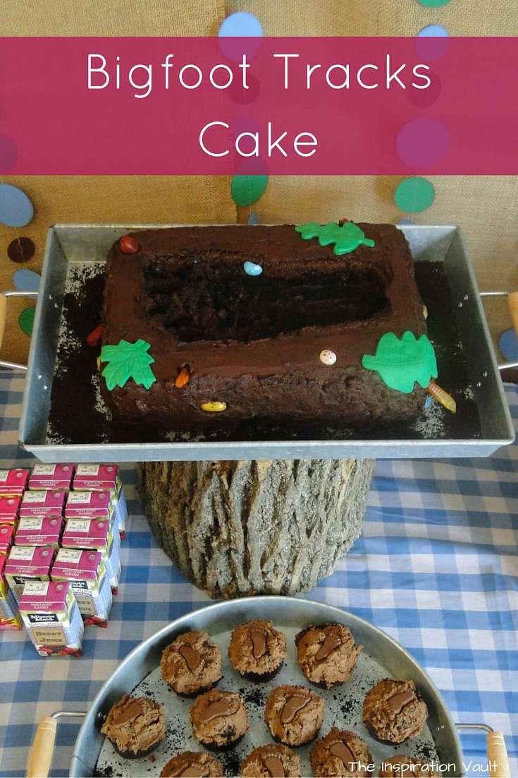 Bigfoot Tracks Cake Tutorial Bigfoot Party Food