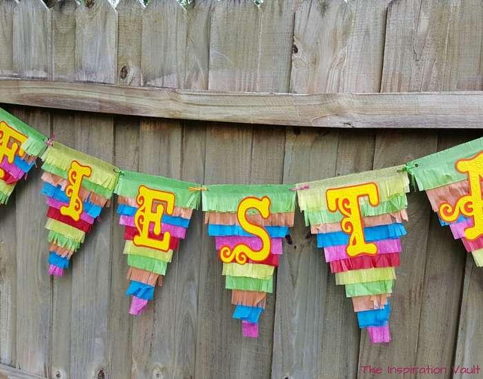 Fiesta Pinata Banner Complete
