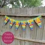 Fiesta Pinata Banner