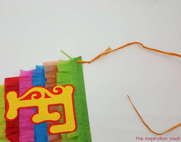 Fiesta Pinata Banner Step 9