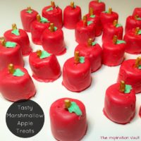 Tasty Marshmallow Apple Treats Feature
