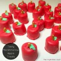 Tasty Marshmallow Apple Treats Feature