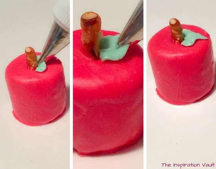 Tasty Marshmallow Apple Treats Step 13