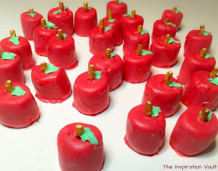 Tasty Marshmallow Apple Treats Step 15