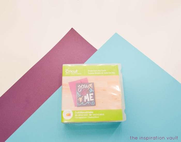 #1 Teacher Cricut Card Materials