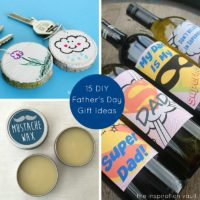 15 DIY Father's Day Gift Ideas Feature