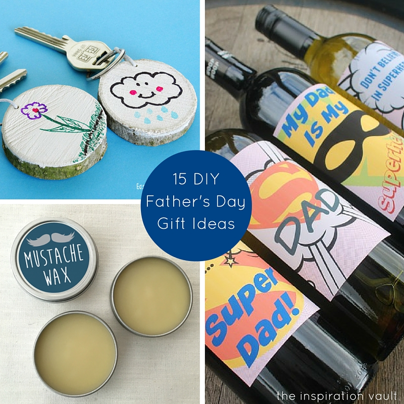 15 DIY Father's Day Gift Ideas