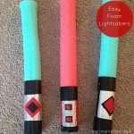 Easy Foam Lightsabers