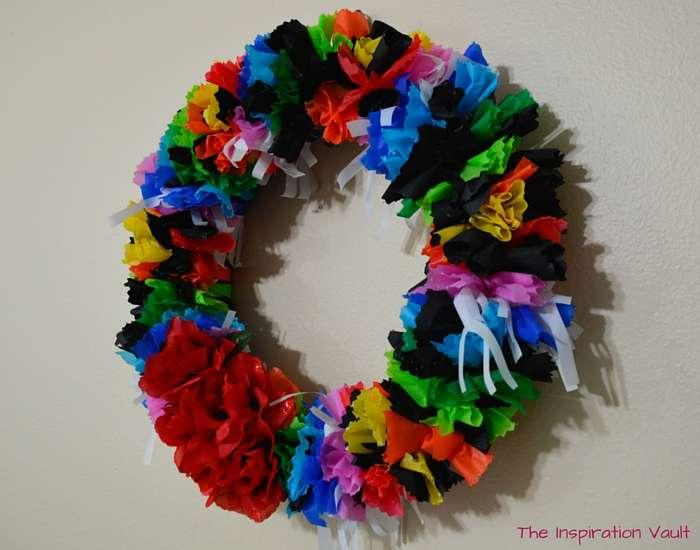 Fiesta Serape Wreath Complete