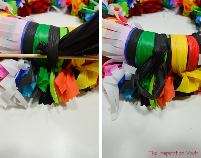 Fiesta Serape Wreath Step 13