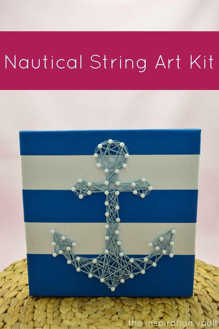 Nautical String Art Kit Craft Tutorial Target Crafts