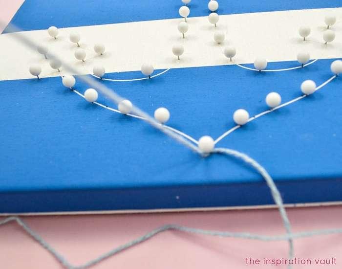 Nautical String Art Kit Step 2