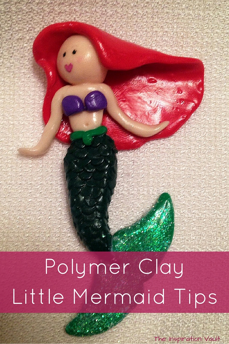 Polymer Clay Little Mermaid Tips Craft Tutorial