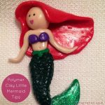 Polymer Clay Little Mermaid Tips