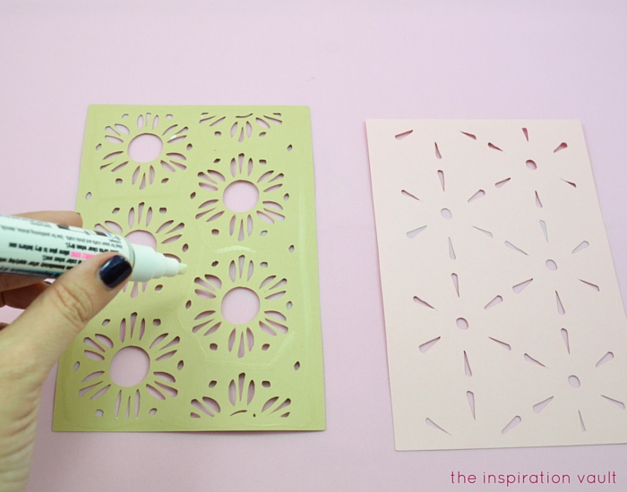 Lovely Daisy Cricut Birthday Card Step 10a