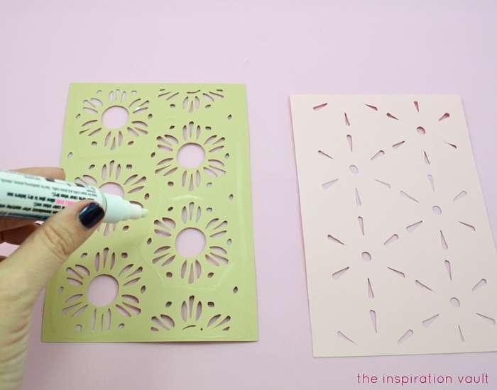 Lovely Daisy Cricut Birthday Card Step 10a