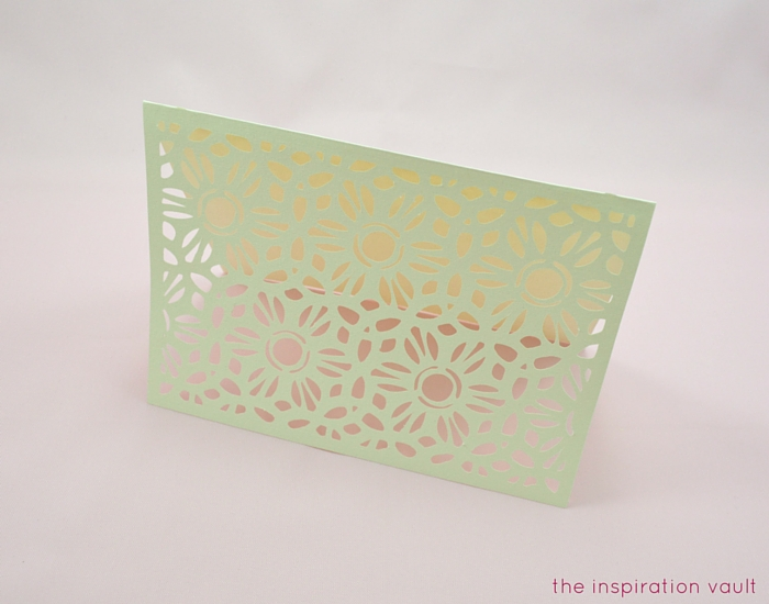 Lovely Daisy Cricut Birthday Card Step 12