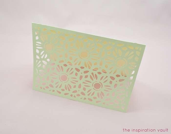 Lovely Daisy Cricut Birthday Card Step 12