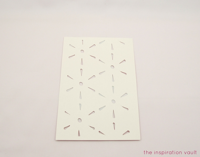 Lovely Daisy Cricut Birthday Card Step 3b