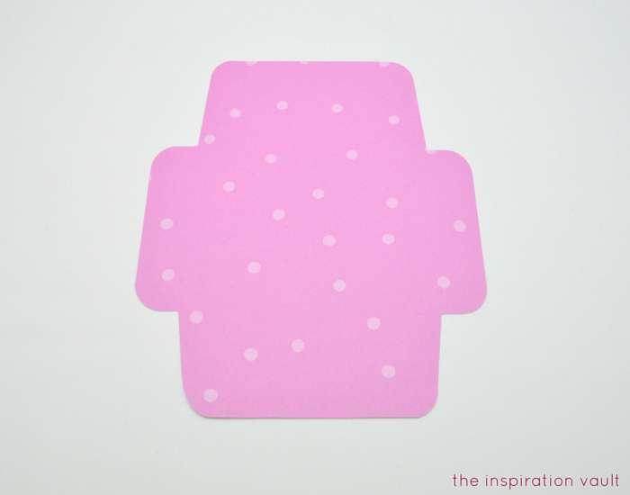 Welcome Baby Cricut Card Step 3b