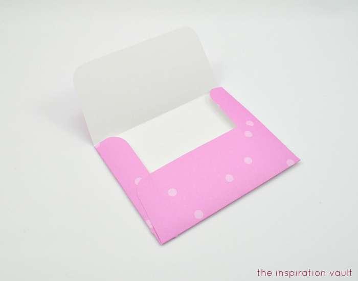 Welcome Baby Cricut Card Step 7