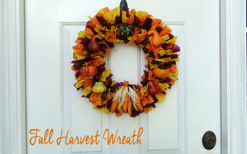Fall Harvest Wreath Slider Image