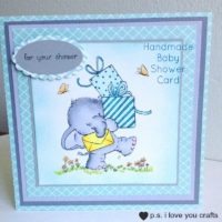 Handmade Baby Shower Card Feature Image