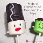 Bride of Frankenstein Marshmallow Pops