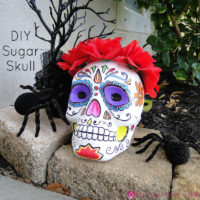 DIY Sugar Skull Feature Image