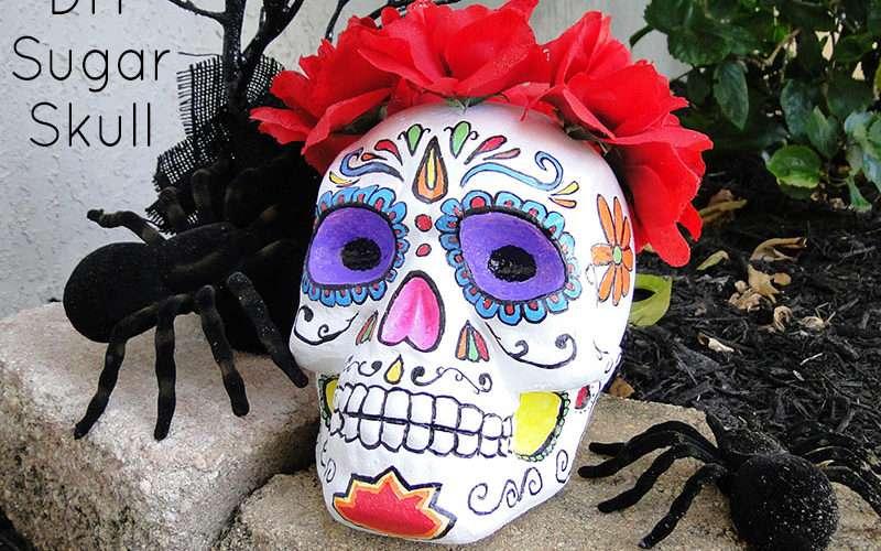 DIY Sugar Skull Feature Image
