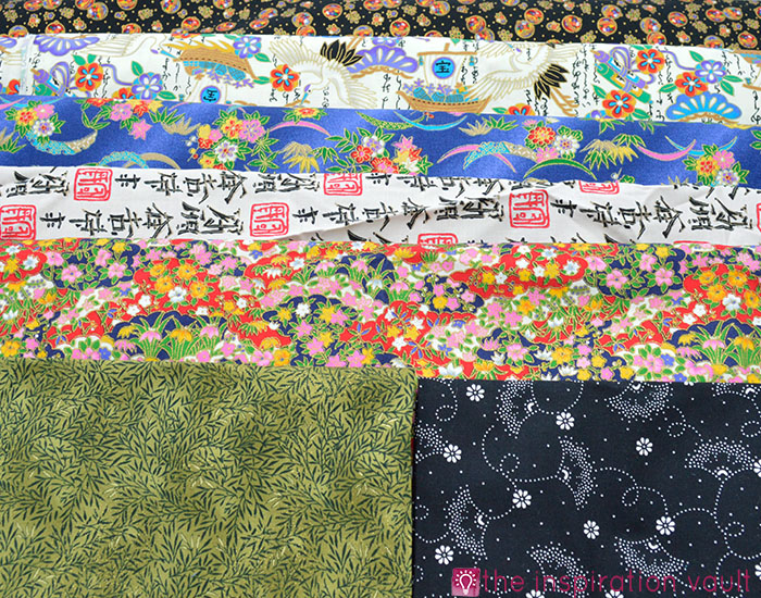 Fabric Stash Excavation Japanese Prints