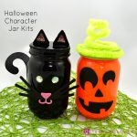 Halloween Character Jar Kits