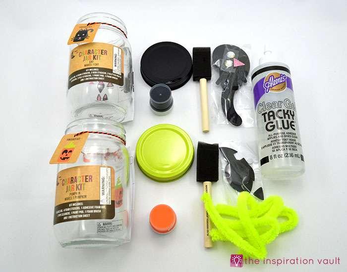 halloween-character-jar-kits-materials