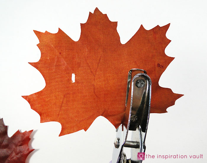 sparkly fall leaf napkin rings the inspiration vault