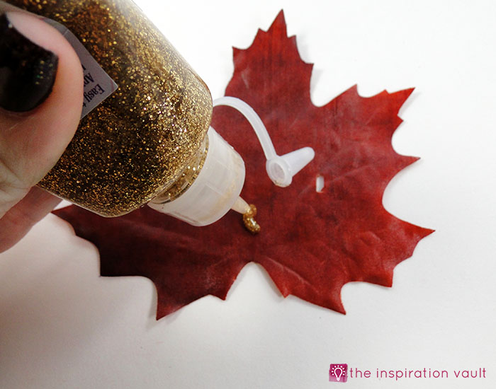 sparkly-fall-leaf-napkin-rings-step-2
