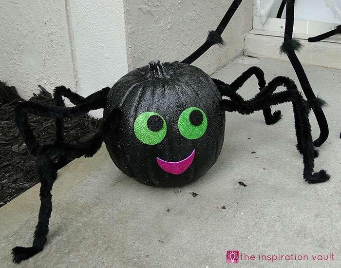 sparkly-pumpkin-spider-complete
