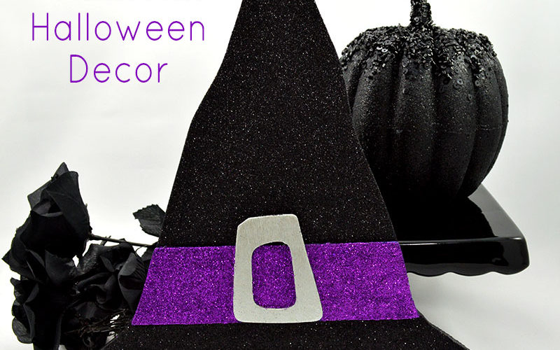 glittered-witch-hat-halloween-decor-feature-image