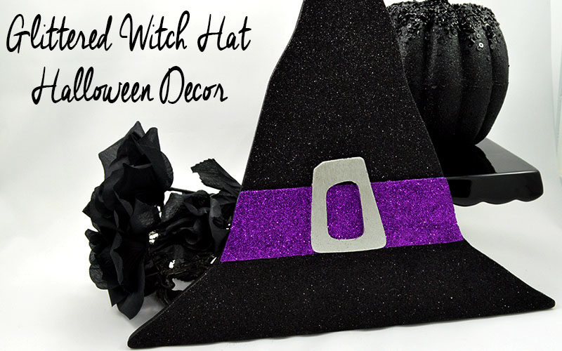 glittered-witch-hat-halloween-decor-slider-image