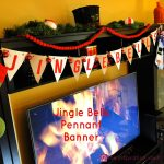Jingle Bells Pennant Banner