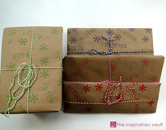 personalized-brown-paper-gift-wrap-complete
