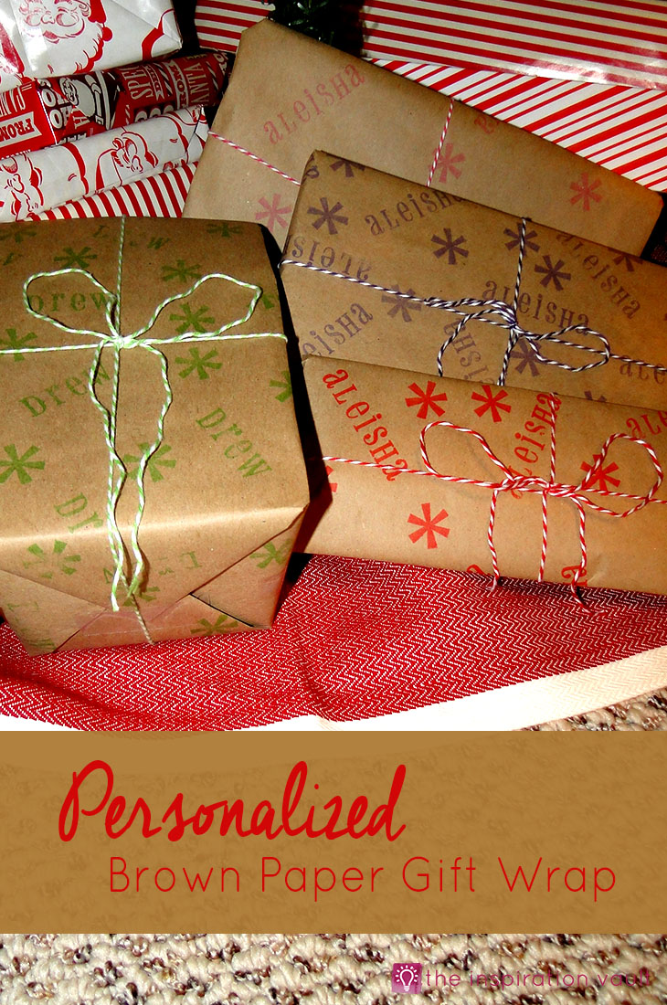 personalized-brown-paper-gift-wrap-craft-tutorial