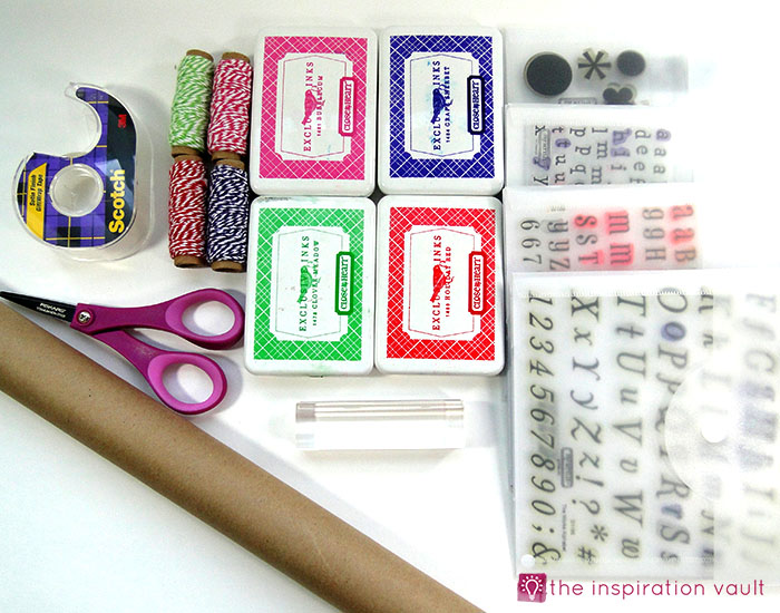 personalized-brown-paper-gift-wrap-materials
