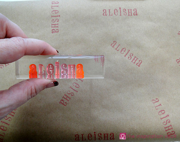 personalized-brown-paper-gift-wrap-step-3a