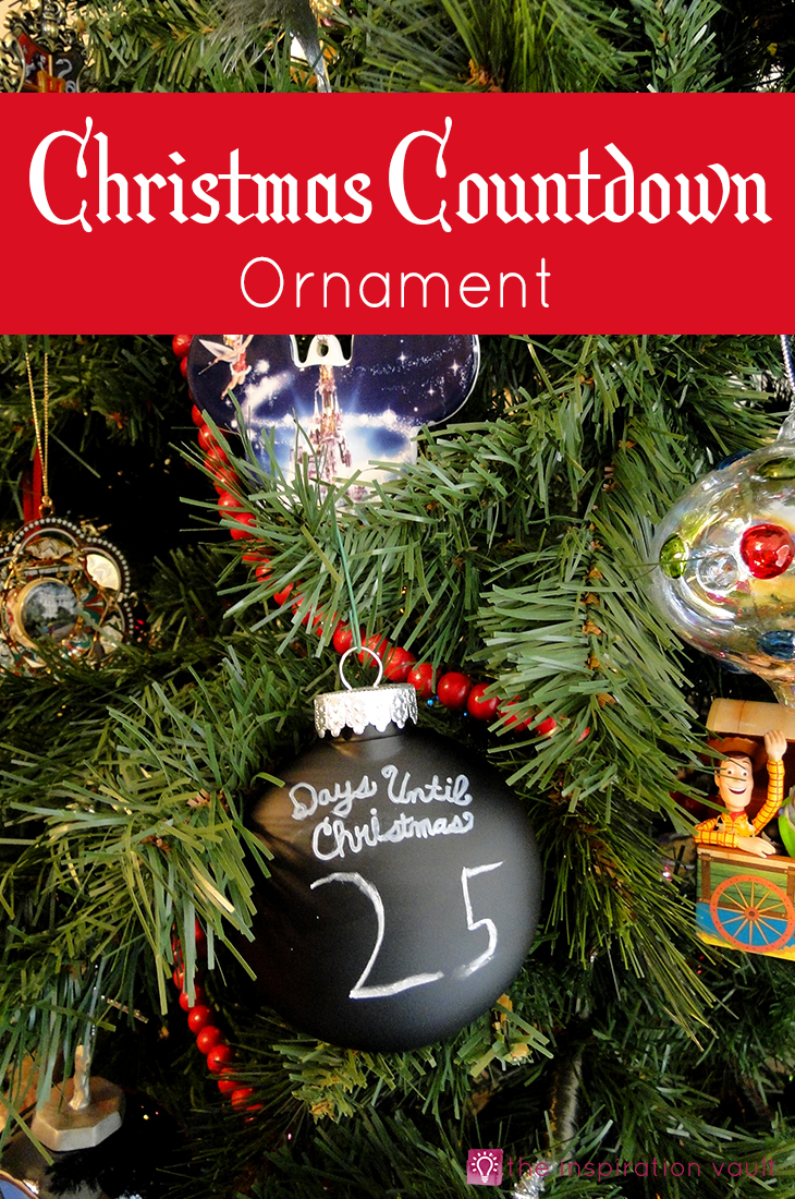 christmas countdown ornament craft tutorial kids
