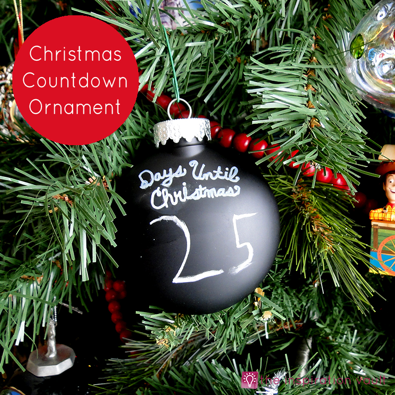 christmas countdown ornament feature