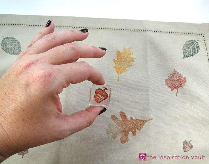 fall-leaf-stamped-cloth-napkins-step-2