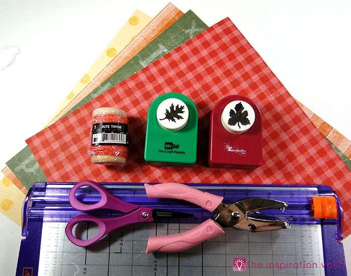 mini-fall-leaf-garland-napkin-rings-materials