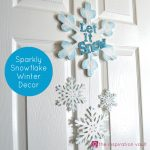 Sparkly Snowflake Decor