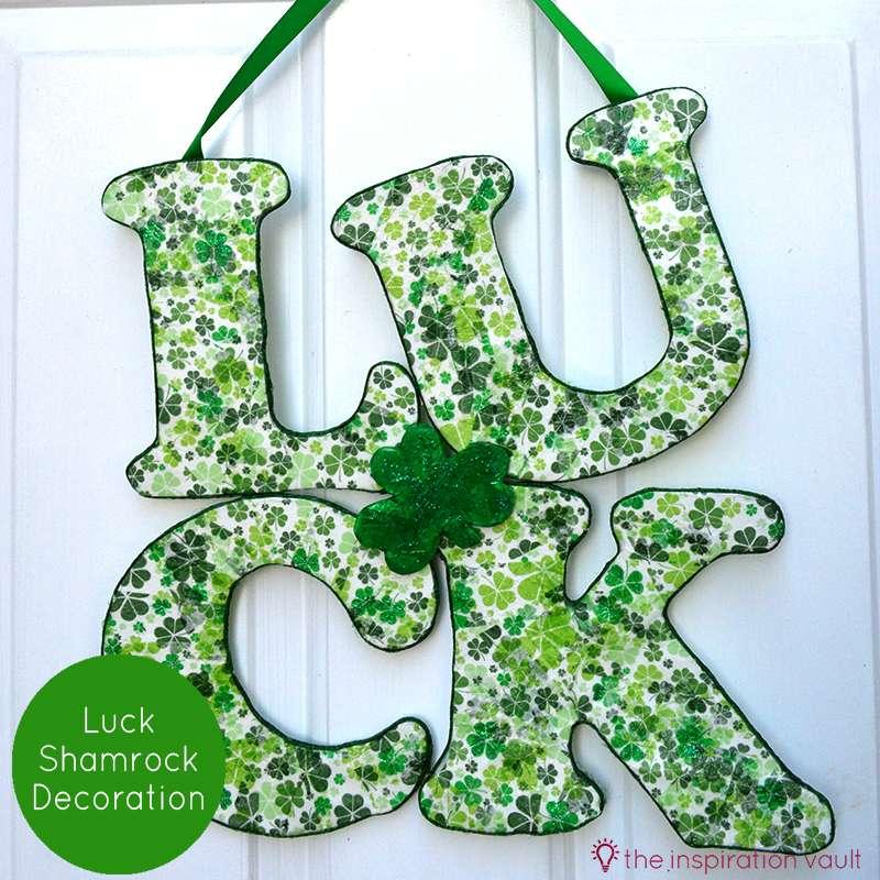 Luck Shamrock Decoration Feature