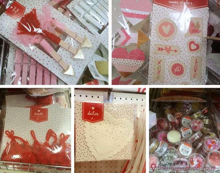 Valentine's Day Craft Supply Haul 1